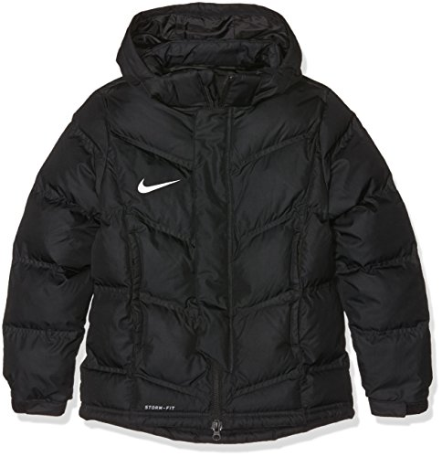 Nike Kinder Jacke Team Winter Winterjacke, black/White, XS (Jacke Kinder Nike Winter)