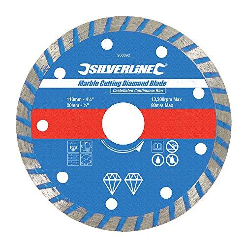 silverline-950392-disco-para-corte-de-marmol-110-x-27-x-20-mm-borde-continuo-acanalado