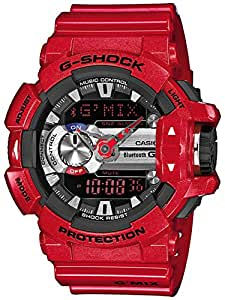 Montre Casio G-Shock Bluetooth Rouge brillant Oversize GBA-400-4AER GBA-400-4AER
