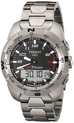 Tissot Herren-Armbanduhr T-Touch Expert Analog Quarz T0134204420200