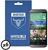 HTC One M8 (2014) Screen Protector Pack, Super Clear by Minotaur (6 Screen Protectors)