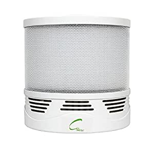 Gliese Compact 25-Watt Air Purifier with HEPA Filter, Activated Carbon Filter & Ioniser (White)