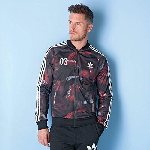 adidas Originals Classic Team AOP Superstar Herren Track Top Jacke, Größe:XS Adidas Originals Track Tops