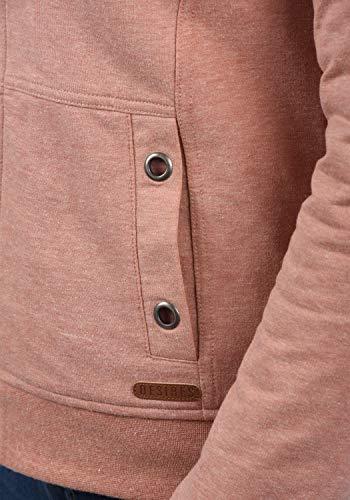 DESIRES Mandy Pile Damen Sweatshirt Pullover Pulli Mit Teddy-Futter, Größe:XS, Farbe:Powder Rose (P5178M) - 4