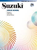 Suzuki Violin School Violin Part Volume 4 (with CD)