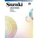 Suzuki Violin School: Violin Part, volume 4