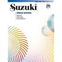 Suzuki Violin School 4 (Buch/ Audio CD)