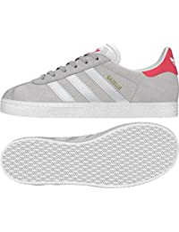 premium selection b323d c697c adidas Gazelle J, Scarpe da Fitness Unisex-Bambini, Grigio (GriunoFtwbla