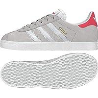new product 81452 ed2ee Adidas Gazelle J, Zapatillas de Deporte Unisex Niño, Gris (GriunoFtwbla