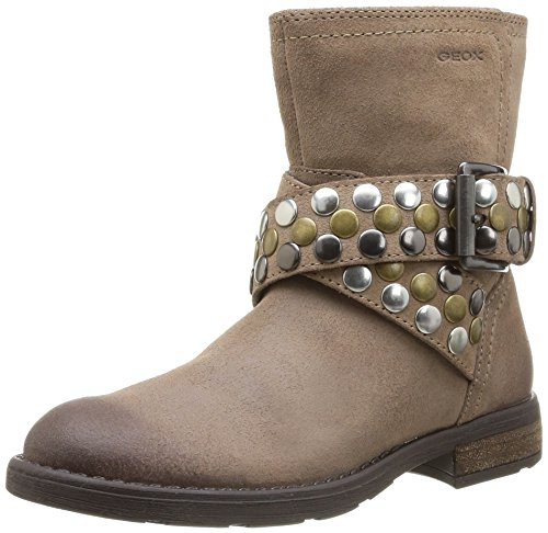 Geox Jr Sofia, Boots fille Beige (Taupe)
