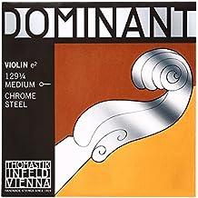 Dominant Strings 12914 - Cuerda para violín de acero y cromo en Mi, 1/4