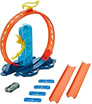 Hot Wheels Track Builder Accesorios para Pistas de Coches Acelerador de Loop (Mattel GLC90) , color/modelo sur