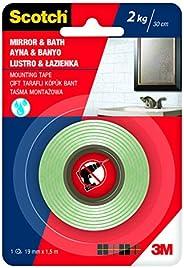Scotch 4003 Banyo&Ayna Montaj Bandı, 19 mm x 1,5 m