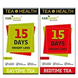 Farganic 15 Days Weight Loss Green Tea. 100% Natural and Herbal. Day Time