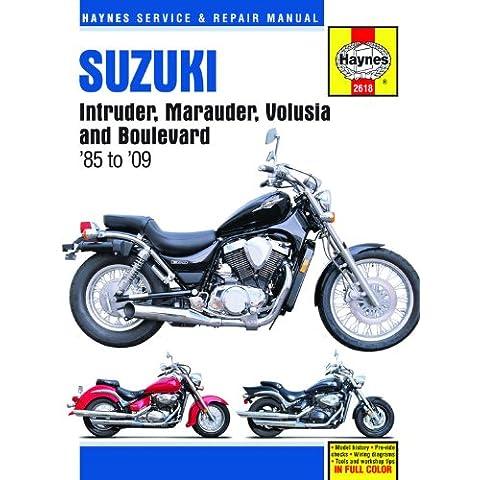 Haynes Suzuki Intruder, Marauder, Volusia, C50, M50 & S50 Service and Repair Manual