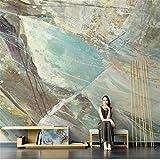 3D Wallpaper 3D-Vliestapete Persönlichkeit Graffiti Marmor Textur Stein Muster Retro Wohnzimmer Tv Hintergrundbild Sofa Kostenlose Tapete Mural Tuch, 400 * 280 Cm