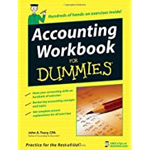 Accounting Workbook For Dummies by John A. Tracy (2006-08-07)