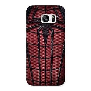 Premium Premier Web Wear Multicolor Back Case Cover for Galaxy S7 Edge