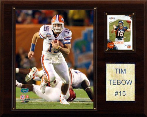 C & I Collectables NCAA Fußballschild Tim Tebow Florida Gators Player -