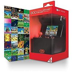 """Dreamgear My Arcade Retro Machine XDreamgear Retro Console DGUN-2593 MyArcade MachineSpecifiche:PiattaformaRetro Arcade Machine X riporta l'esperienza arcade e può essere giocata ovunqueDisplay Incorporato2,5""""Tecnologia batteria3 AAColoreNero / Rosso..."""