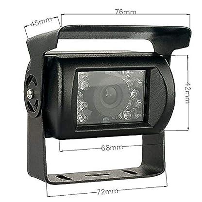 Digital-Wireless-Backup-Kamera-KitRckfahrkamera-drahtlos-IP67-Wasserdicht-LED-Super-Nummernschild-Nachtsicht-Rckseite-Funk-Back-Up-Auto-Kamera-fr-Fahrzeug-Parkassistenzsystem-LKW-Rckfahrt