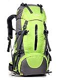 Minetom 50L Unisex Erwachsene Rucksack Camping Wandern Reisen Trekkingrucksäcke Wanderrucksäcke