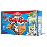 Cuétara - Tosta Rica Choco Guay - Galletas Sándwich Rellena de Crema de Leche 0.168 kg - Pack de 3 (Total 0.504 kilogramsams)