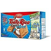Cuétara Tosta Rica ChocoGuay Galletas Sándwich Rellena de Crema de Leche ...