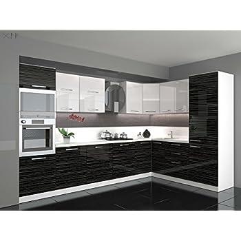 Küche L Form Hochglanz 3,40 M X 2,20 Ohne E Geräte,