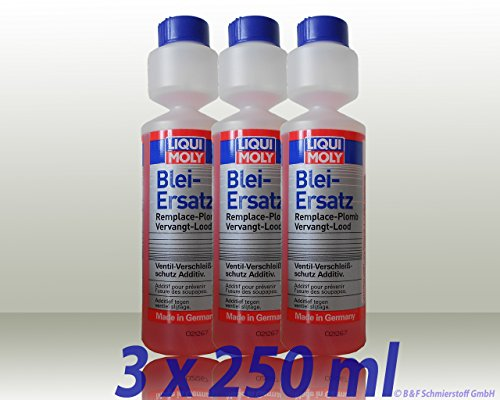 Liqui Moly 3X 1010 Blei-Ersatz Kraftstoff Zusatz 250ml