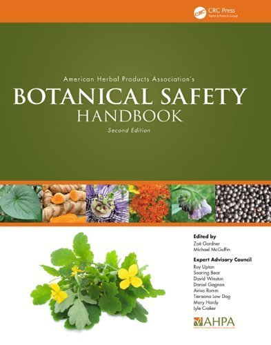 American Herbal Products Association's Botanical Safety Handbook, Second Edition (2013-03-15)