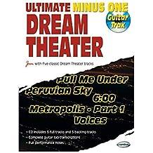 Ultimate Minus One Dream Theater - Paroles et tablatures guitare (+ CD)