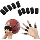 Futaba Finger Sleeve Support Wrap Arthritis Guard Volleyball Sports - 10 Pcs