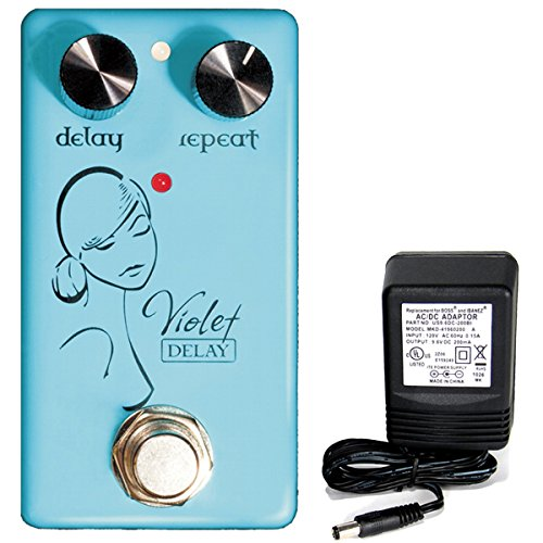 Red Witch Seven Sisters Violet Delay Pedal