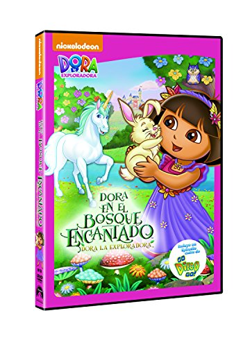 Dora la exploradora: Aventuras en el bosque encantado [DVD] 514daXrM9xL