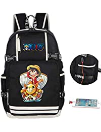 One Piece Strohhutbande Ruffy Zorro Rucksack Bag Backpack Ranzen Laptop Tasche