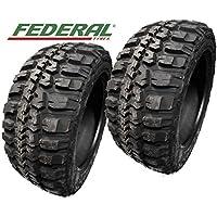 2 x Federal couragia M/T 35 x 12.50r20 121q p.o.r. Offroad Neumáticos