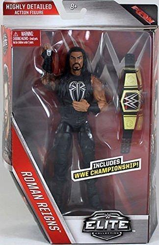 WWE Elite Série 45 Figurine D'Action - Roman Reigns W/ WWE Ceinture Champion
