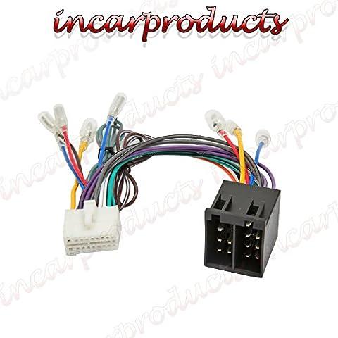 Clarion NX Ersatz ISO Radio Geschirr Auto CD Stereo Adapter Loom (Spielen Harness Adapter)