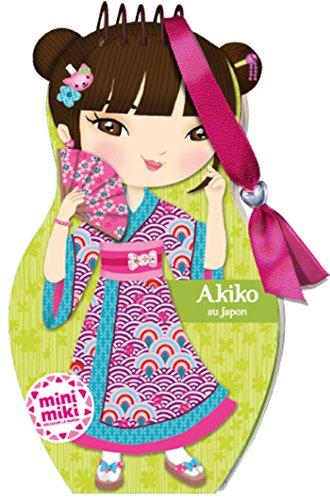 Minimiki - Carnet créatif - Akiko au Japon