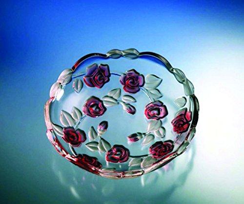Dajar 54623 3 Teller Natascha Satin Rose, 18 cm