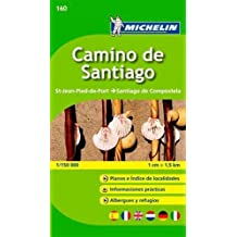 Michelin Guide to Camino de Santiago by Collectif (2015-12-01)