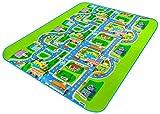 Teppich-Scan des Kindes 0.5cm Stadt der Stadt von den Teppich-Teppich des Relief von Klettern Spiel der Kinder Mat 160* 130cm