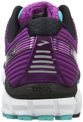 Brooks Damen Ghost 9 Laufschuhe Mehrfarbig (Black/Sparkling Grape/Ceramic)