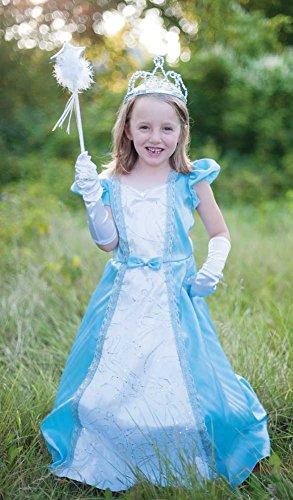 Prinzessinnen-Kleid mit Reifrock, Grösse S/M