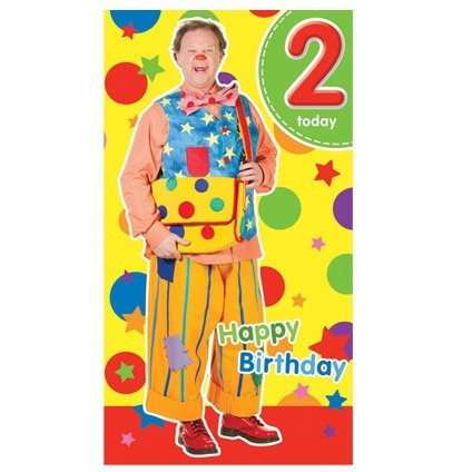 Image of Something Special Mr Tumble - Age 2 Birthday Card - 2nd