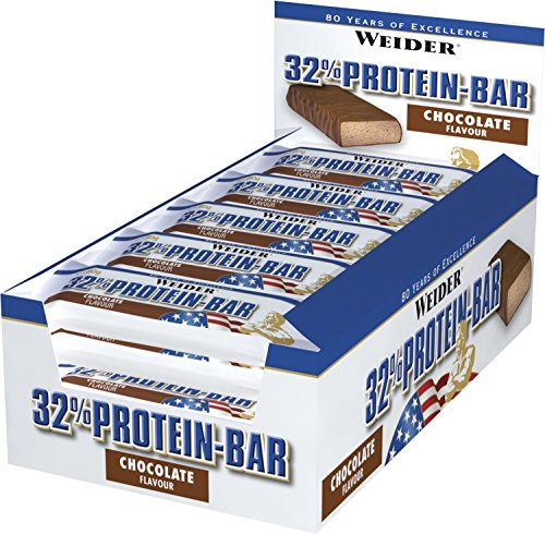 WEIDER 32% Protein Bar MIX BOX, 11 x 60g Pro White Box