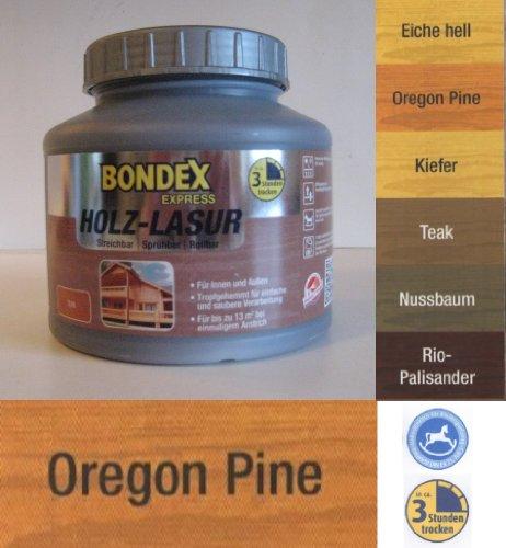 Bondex Express Lasur Plus, 1 Liter in Oregone-Pine