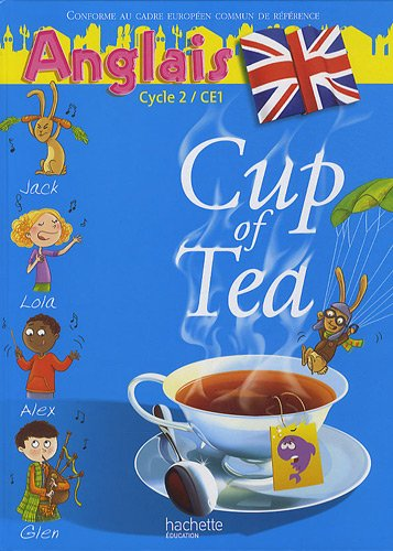 Anglais Cycle 2 CE1 Cup of Tea