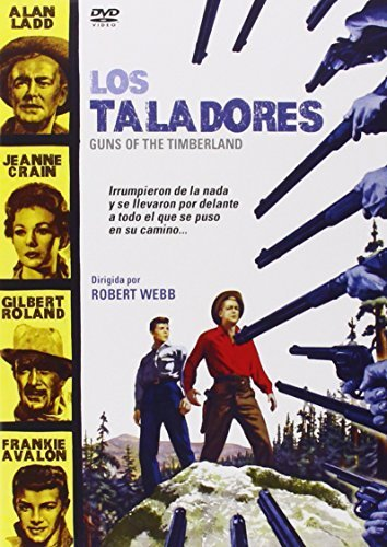 Price comparison product image Guns of the Timberland (1960) - Region Free PAL, plays in English without subtitles